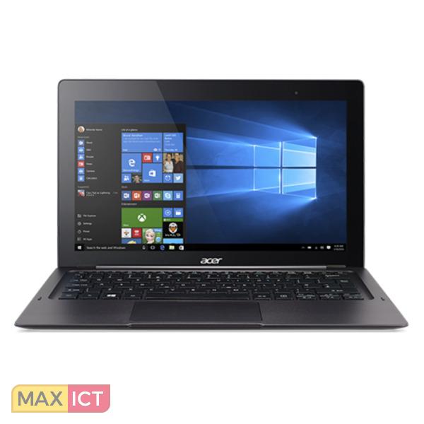 "Acer Switch 12 S SW7-272-M3A0 Zwart Hybride (2-in-1) 31,8 cm (12.5"") 1920 x 1080 Pixels Touchscreen Intel Core™ M m3-6Y30 4 GB LPDDR3-SDRAM 128 GB SSD"