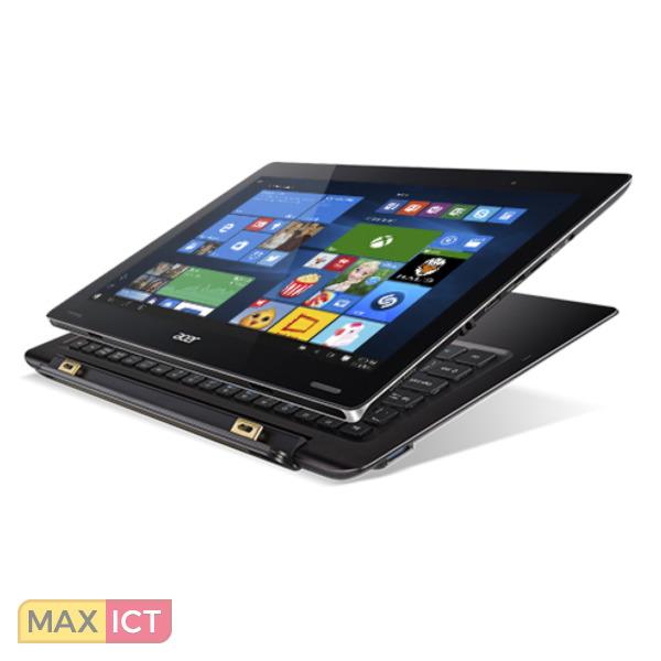 """Acer Switch 12 SW7-272-M5FE Zwart Hybride (2-in-1) 31,8 cm (12.5"""") 1920 x 1080 Pixels Touchscreen Intel Core™ M m3-6Y30 4 GB LPDDR3-SDRAM 128 GB SSD"""