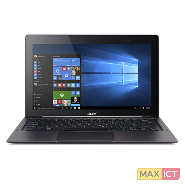 "Acer Switch 12 SW7-272P-M8V4 Zwart Hybride (2-in-1) 31,8 cm (12.5"") 1920 x 1080 Pixels Touchscreen Intel Core™ M m5-6Y54 8 GB LPDDR3-SDRAM 256 GB SSD"