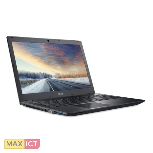 "Acer TravelMate P2 P259-M-320F Zwart Notebook 39,6 cm (15.6"") 1366 x 768 Pixels Zesde generatie Intel® Core™ i3 i3-6006U 4 GB DDR4-SDRAM 128 GB SSD"