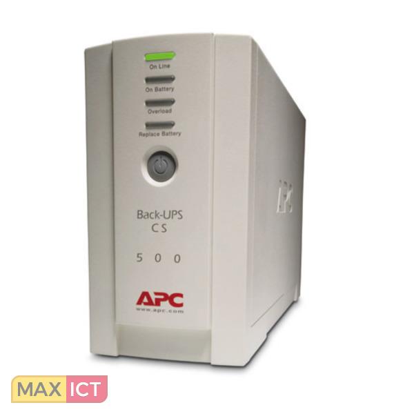 APC Back-UPS 500VA noodstroomvoeding 4x C13 uitgang, USB