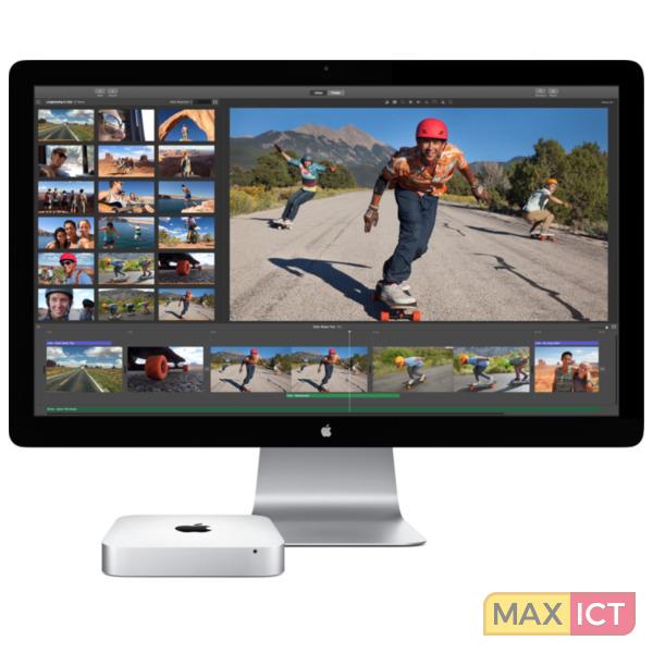 Apple Mini Intel Core i5 8 GB LPDDR3-SDRAM 1000 GB Fusion Drive Zilver Nettop Mini PC