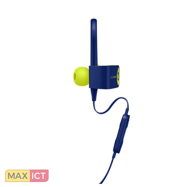 Apple Powerbeats3 mobiele hoofdtelefoon Stereofonisch oorhaak, In-ear  Blauw, Limoen