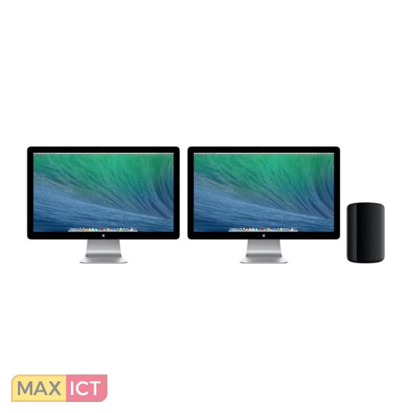 Apple Pro Intel Xeon E5 familie E5-1650V2 16 GB DDR3-SDRAM 256 GB Flash Zwart Desktop Workstation
