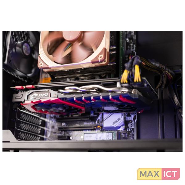 Bluechip GAMINGline T9700 Xtreme 3.6GHz i7-7820X Midi Toren Zwart PC