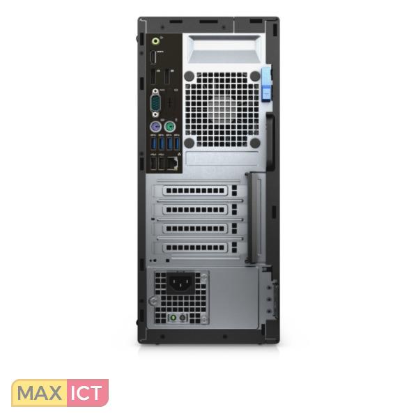 Dell OptiPlex 5050 3.9GHz i3-7100 Mini Toren Zwart PC
