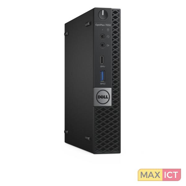 Dell OptiPlex 7050 2.70GHz i5-7500T Mini PC Zwart Mini PC