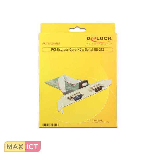 DeLOCK 89555 Intern Serie interfacekaart/-adapter