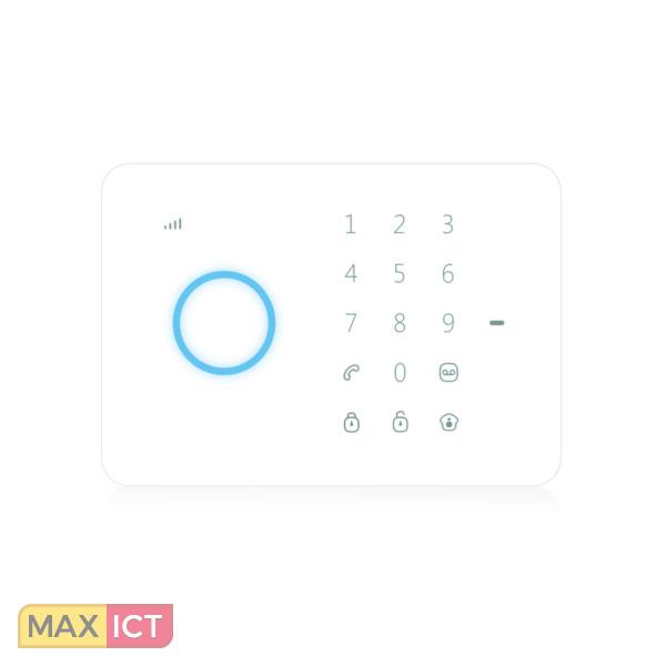 Eminent E-Alarm 433MHz Zwart, Wit toegangscontrolesysteem