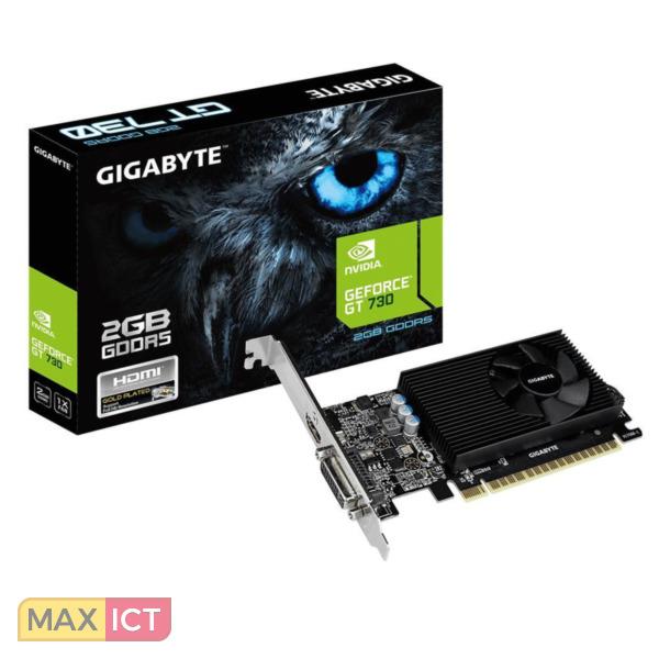 Gigabyte GV-N730D5-2GL GeForce GT 730 2GB GDDR5 videokaart