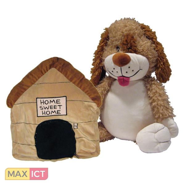 Happy Nappers Knuffel en kussen in 1 Happy Napper Hond