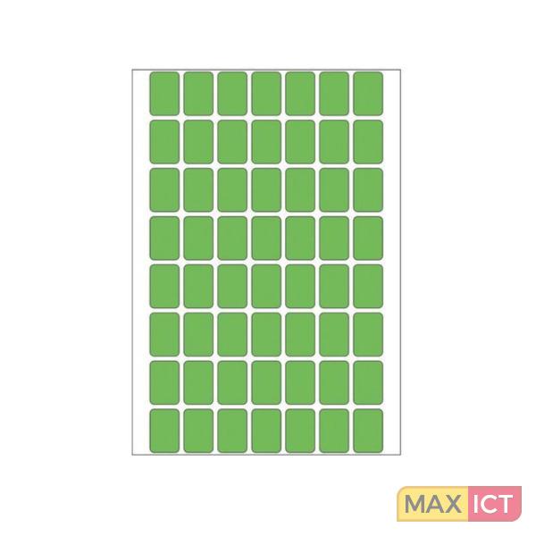 Herma Universele etiketten 12x18mm groen voor handmatige opschriften 1792 St.
