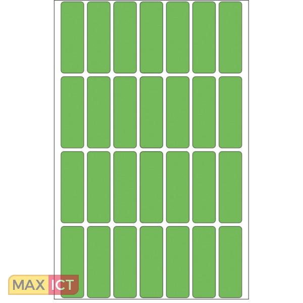 Herma Universele etiketten 13x40mm groen voor handmatige opschriften 896 St.