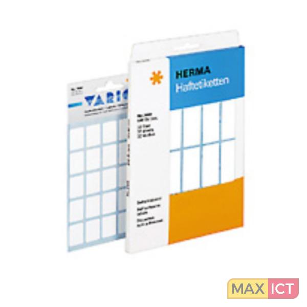 Herma Universele etiketten 52x82mm geel voor handmatige opschriften 128 St