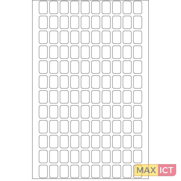 Herma Universele etiketten 8x12mm wit voor handmatige opschriften 3840 St