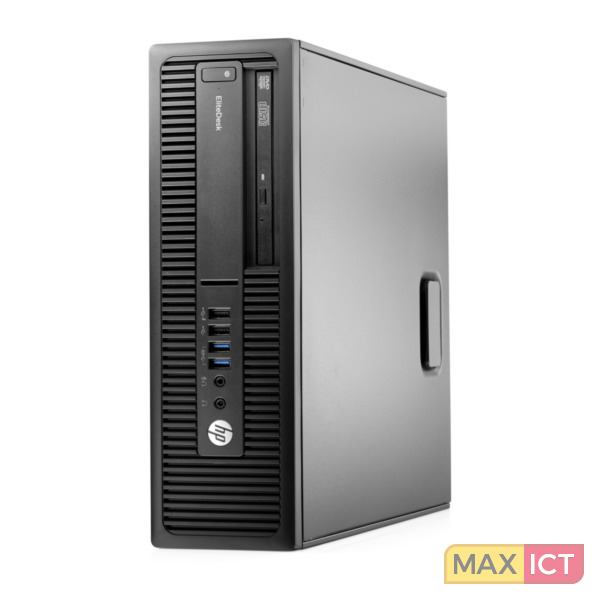 HP EliteDesk 705 G2 6th Generation AMD PRO A10-Series PRO A10-8750B 8 GB DDR3L-SDRAM 128 GB SSD Zwart SFF PC