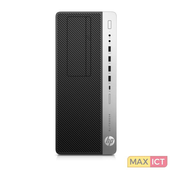 HP EliteDesk 800 G3 3,6 GHz Zevende generatie Intel Core™ i7 i7-7700 Zwart, Zilver Toren PC