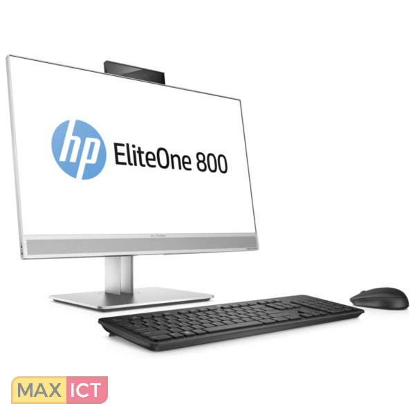 "HP EliteOne 800 G3 3.6GHz i7-7700 23.8"" 1920 x 1080Pixels Zwart, Zilver Alles-in-één-pc"