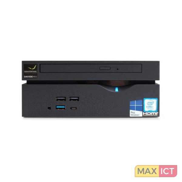 HP Enterprise GRAFENTHAL Davide 3.9GHz i3-7100 Mini PC Zwart Mini PC