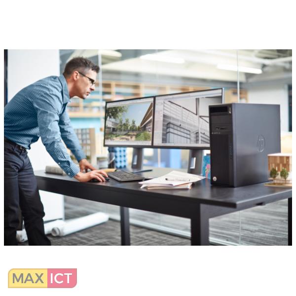 HP Z440 Intel® Xeon® E5 v3 E5-1603V3 4 GB DDR3-SDRAM 1256 GB SSD Zwart Mini Toren Workstation
