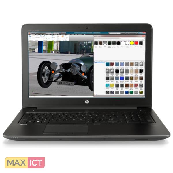 "HP ZBook 15 G4 Zwart Mobiel werkstation 39,6 cm (15.6"") 1920 x 1080 Pixels 2,9 GHz Zevende generatie Intel Core™ i7 i7-7820HQ"