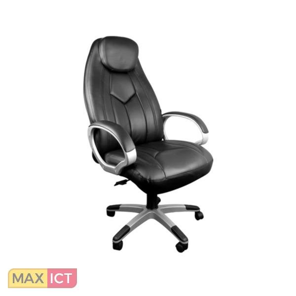 Bureaustoel Zwart Design.Kangaro Design Bureaustoel Met Maximaal Zitcomfort Kopen Max