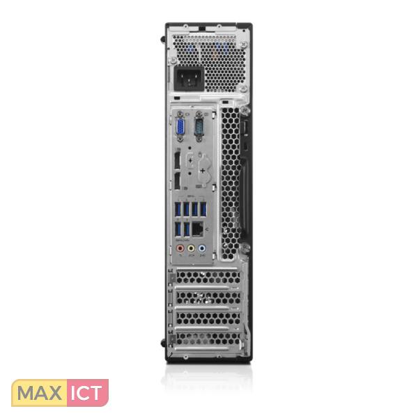 Lenovo ThinkCentre M900 3.4GHz i7-6700 Kleine vormfactor Zwart Win 10 Pro