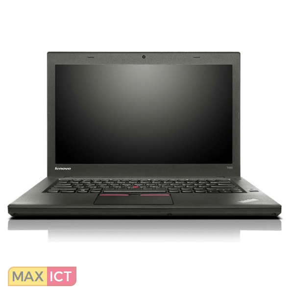 """Lenovo ThinkPad T450 Zwart Notebook 35,6 cm (14"""") 1600 x 900 Pixels Vijfde generatie Intel® Core™ i5 i5-5300U 8 GB DDR3L-SDRAM 256 GB SSD 3G 4G"""