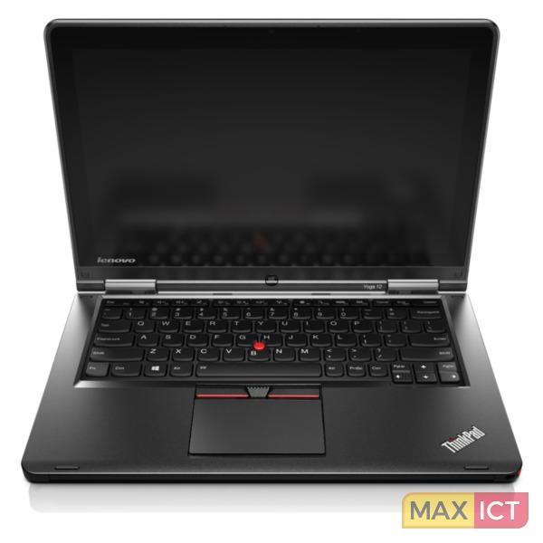 """Lenovo ThinkPad Yoga Zwart Notebook 31,8 cm (12.5"""") 1920 x 1080 Pixels Touchscreen Vijfde generatie Intel Core™ i7 i7-5500U 8 GB DDR3L-SDRAM 256 GB SSD"""