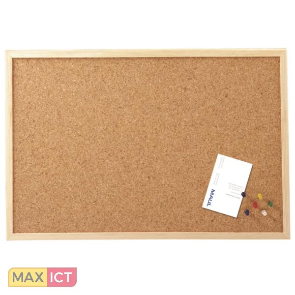 Maul Prikbord 30 X 40 Cm Kurk Houten Frame Kopen Max Ict Bv