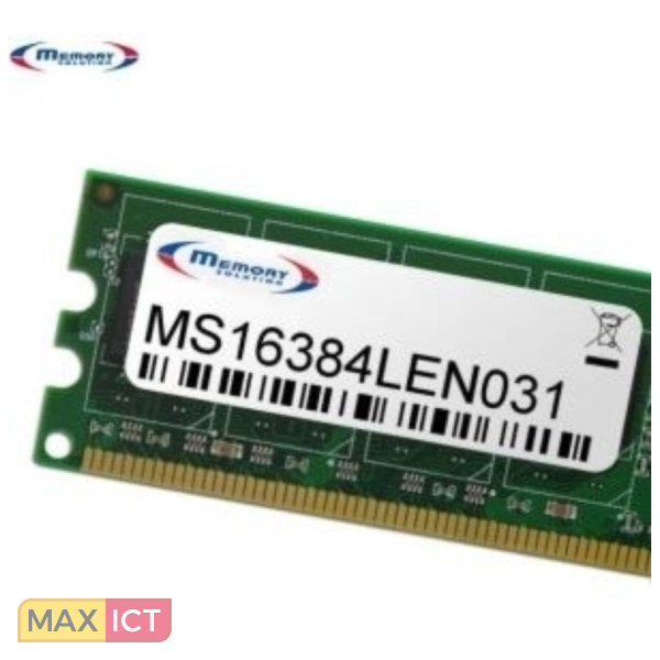 Max ICT Memory Solution MS16384LEN031 16GB geheugenmodule