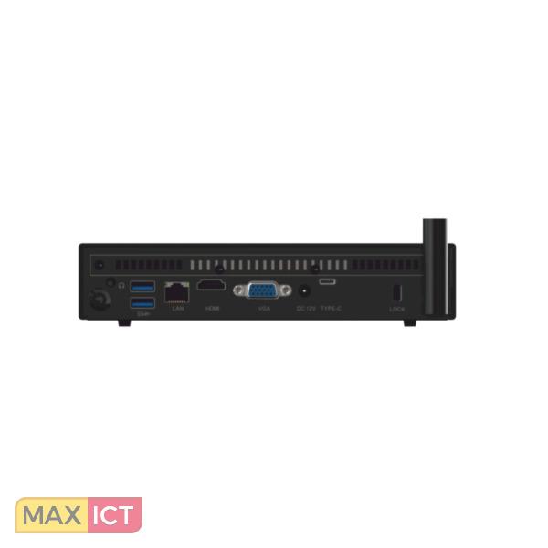 MeLE PCG35Apo 1.5GHz J3455 Zwart Mini PC