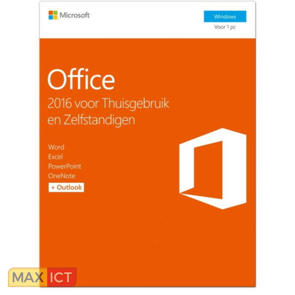 Microsoft Office 2016 Home & Business - NL