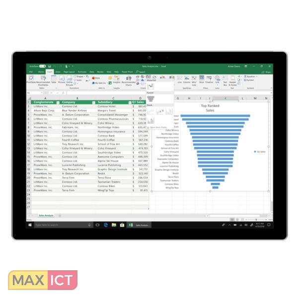 Microsoft Office 2019 Home & Student Volledig 1 licentie(s) Nederlands