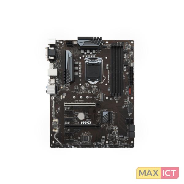MSI Z370-A PRO LGA 1151 Socket H4 ATX