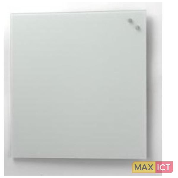 naga glassboard 45x45 cm glas zilver magnetisch bord max ict d ict webwinkel voor zakelijk. Black Bedroom Furniture Sets. Home Design Ideas