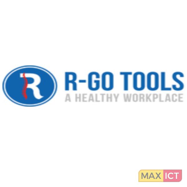 R-Go Tools R-Go Compact Toetsenbord, AZERTY (BE), wit, Bedraad