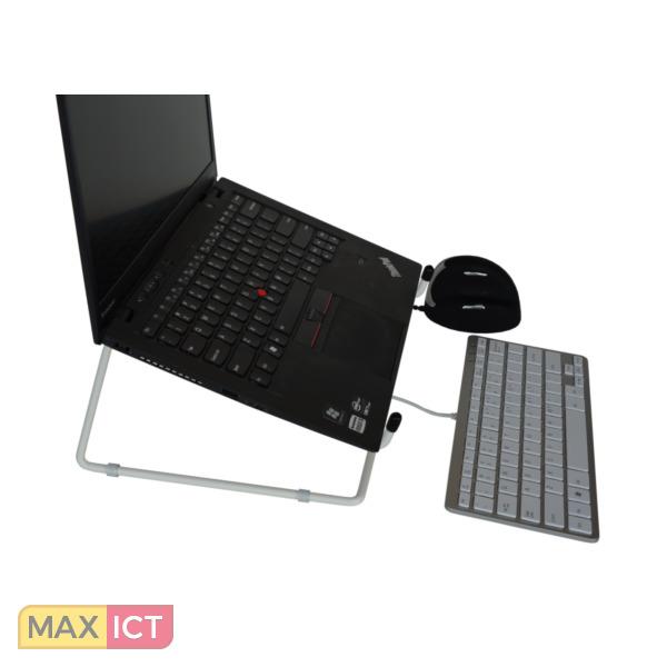 R-Go Tools R-Go Steel Office Laptopstandaard, wit