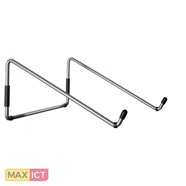 R-Go Tools R-Go Steel Travel Laptopstandaard, zilver