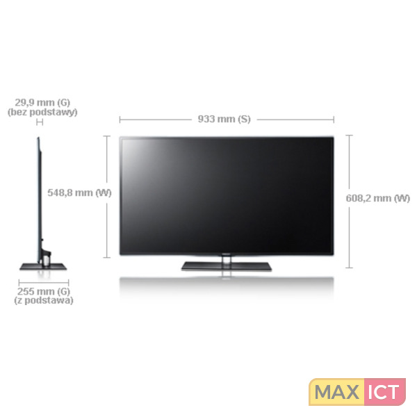 """Samsung UE40D6500 40"""" Full HD 3D Zwart LED TV"""