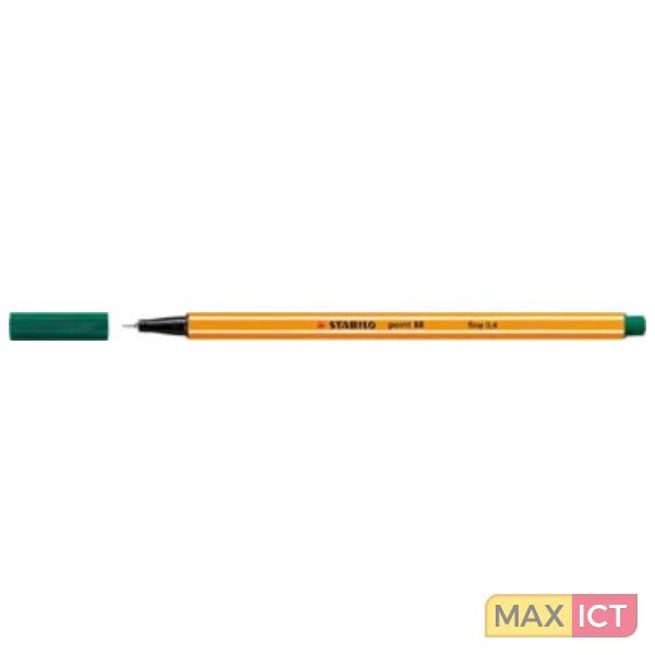 Schwan Stabilo Point 88 Groen 1 stuksuk(s) fijnschrijver