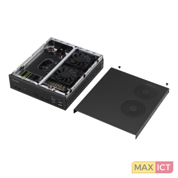 Shuttle XPC slim PC-System D1150XA 3.5GHz G4560 Mini PC Zwart Mini PC