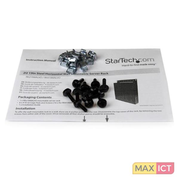 StarTech 4U wandmonteerbare serverrack