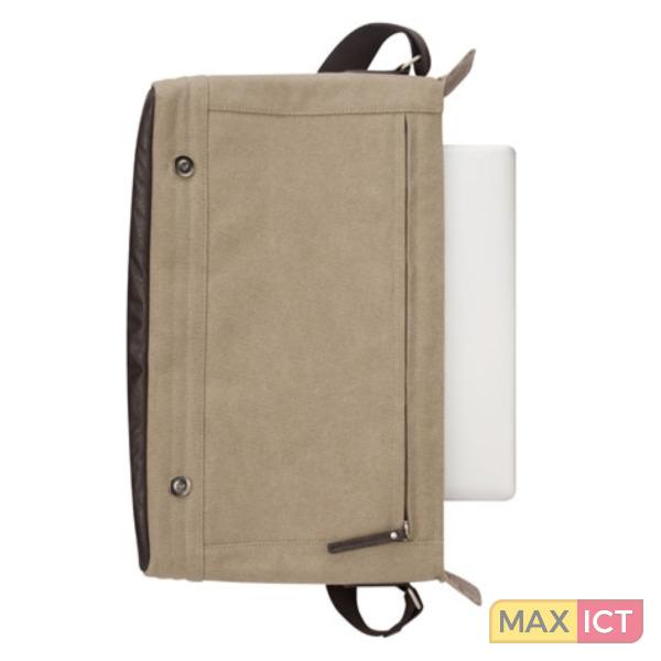 c2dad23ec20 ... Targus Canvas Laptop Messenger-tas voor heren - Canvas Laptop Messenger  15,6