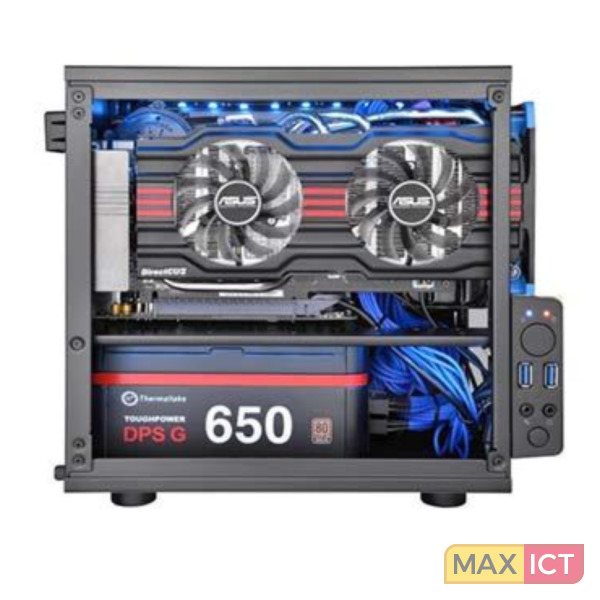 ThermalTake Core V1 kubus Zwart computerbehuizing